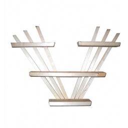 Купить Полка настенная Банные штучки трехъярусная