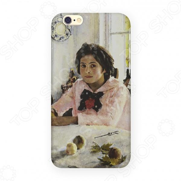 Чехол для iPhone 6 Mitya Veselkov «Девочка с персиками»