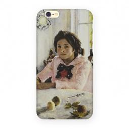 фото Чехол для iPhone 6 Mitya Veselkov «Девочка с персиками»