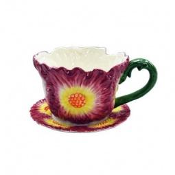 фото Кашпо декоративное Valenсia «Цветок мальвы»