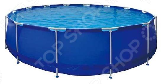 Бассейн каркасный Jilong Round Steel Frame Pools JL010135NGКаркасные бассейны<br>Каркасные бассейны это прекрасная альтернатива стационарным. Возведение и обустройство последних представляет собой очень трудоемкий и дорогостоящий процесс, в то время как для установки каркасного бассейна вам понадобится не более получаса Бассейн каркасный Jilong Round Steel Frame Pools JL010135NG подойдет как для взрослых, так и для детей. Благодаря складной конструкции, его можно установить в любом, удобном для вас месте. Лучше всего для этого подойдет дачный участок или двор загородного дома. Каркас бассейна выполнен из высококачественной нержавеющей стали и обтянут прочным трехслойным материалом. В комплект поставки входит самоклеящаяся заплатка, лестница, чехол, подстилка, картридж и фильтр-насос.<br>