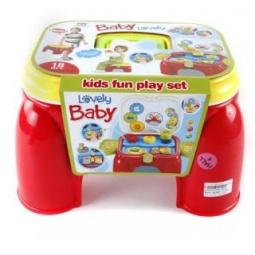 фото Набор игровой для ребенка Shantou Gepai «Стульчик-чемодан» 628925