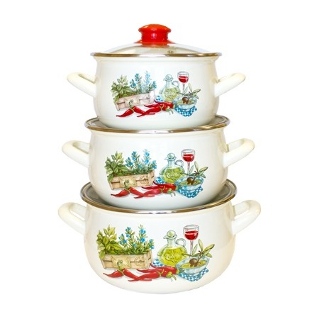 Купить Набор посуды Interos «Гурман»