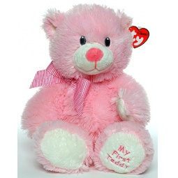 фото Мягкая игрушка TY Медведь MY FIRST TEDDY. Высота: 24 см