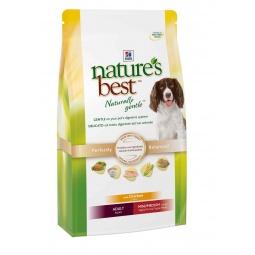 фото Корм сухой для собак мелких и средних пород Hill's Nature's Best с курицей и овощами. Вес упаковки: 12 кг