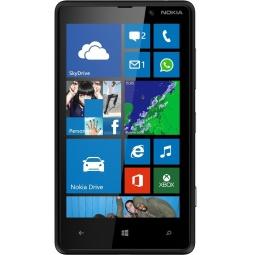 фото Мобильный телефон Nokia Lumia 820. Цвет: черный