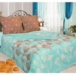 фото Комплект постельного белья Сова и Жаворонок «Карамель». Евро