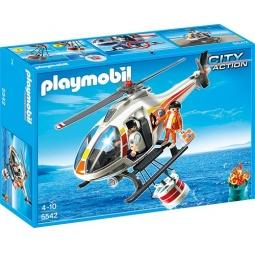 фото Конструктор игровой Playmobil «Береговая охрана: Пожарный вертолет»