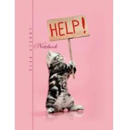 фото Блокнот Бриз «Помоги котенку»