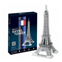 Купить Пазл 3D CubicFun «Эйфелева башня 2»