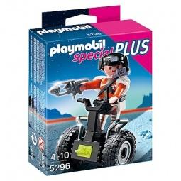 фото Набор фигурок к игровому конструктору Playmobil «Дополнение: Топ агент на гоночной машине»
