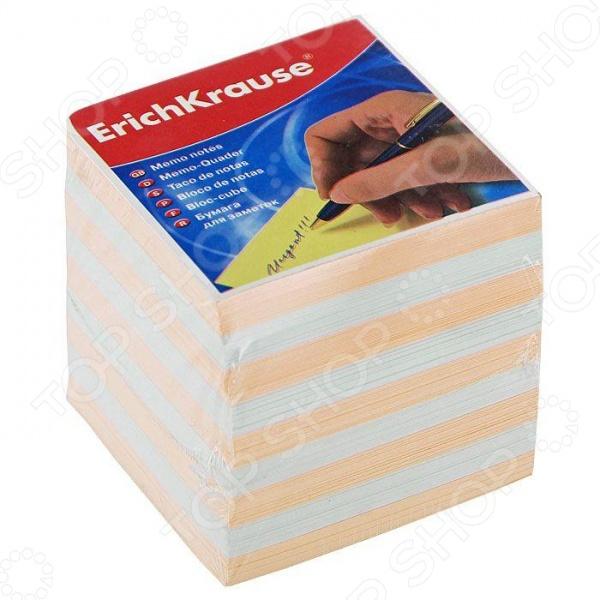 Блок для записей Erich Krause. Цвет: персиковый
