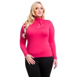 фото Водолазка Mondigo XL 7013. Цвет: ярко-розовый. Размер одежды: 52