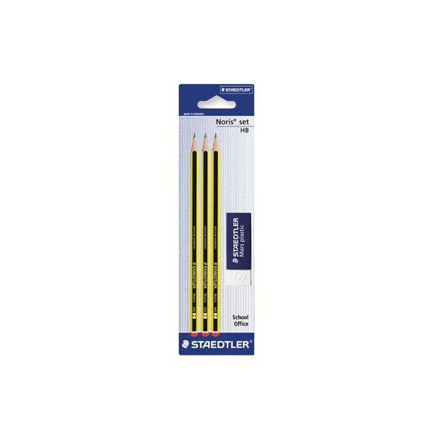 фото Набор карандашей с ластиком Staedtler 120RBK3D