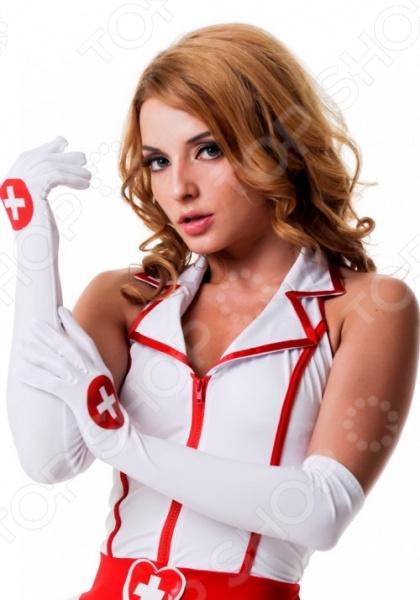 Аксессуар тематический Accessories «Перчатки медсестры» костюм медсестры lefrivole