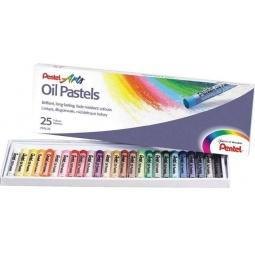 фото Пастель масляная Pentel Oil Pastels PHN4-25