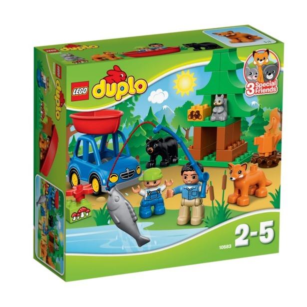 фото Конструктор LEGO Рыбалка в лесу