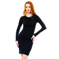фото Платье Mondigo 8670. Цвет: черный. Размер одежды: 44