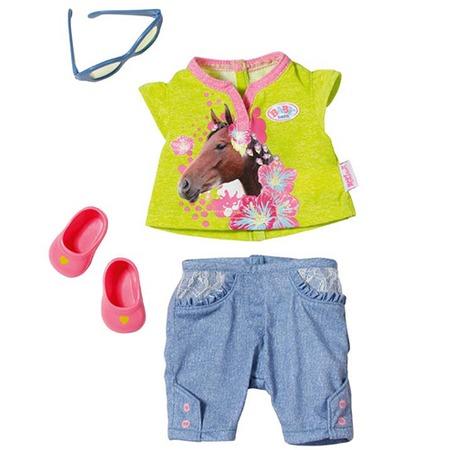 Купить Модная одежда для куклы Zapf Creation Baby born 820-957. В ассортименте