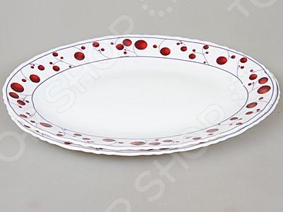 Набор тарелок Rosenberg 1219-496Обеденные тарелки<br>Каждая хозяйка знает насколько важна в кулинарии сервировка и правильная подача блюд. От того как блюдо оформлено, в какой посуде подано и как смотрится на тарелке, зависит едва ли не половина вашего успеха. Набор тарелок Rosenberg 1219-496 станет прекрасным дополнением к комплекту кухонных принадлежностей и подойдет для сервировки как обеденного, так и праздничного стола. Тарелки имеют овальную форму, выполнены из ударопрочного стекла и декорированы оригинальным рисунком. В наборе две штуки.<br>