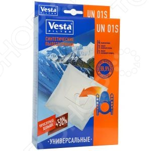 Мешки для пыли Vesta UN 01 S мешки для пыли vesta lg 03 s