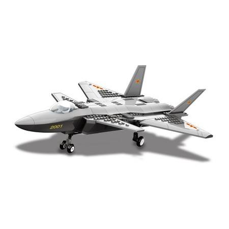 Купить Конструктор игрушечный Dr.Luck «Истребитель J20»