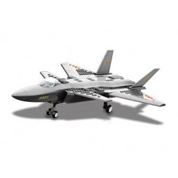 фото Конструктор игрушечный Dr.Luck «Истребитель J20»