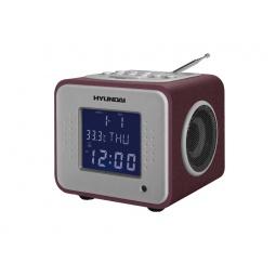 фото Радиобудильник Hyundai H-1625. Цвет: бордовый