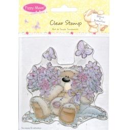 фото Набор штампов прозрачных Trimcraft Бабочки и цветы