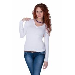 фото Джемпер Mondigo 9131. Цвет: белый. Размер одежды: 46