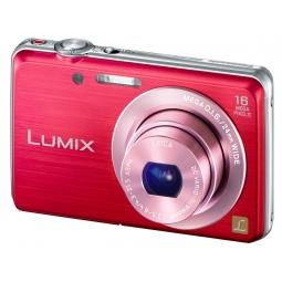 фото Фотокамера цифровая Panasonic Lumix DMC-FS45. Цвет: красный