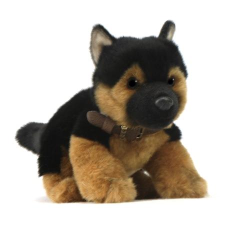 Купить Мягкая игрушка для ребенка Hansa «Щенок немецкой овчарки»