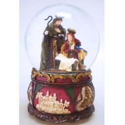 фото Снежный шар музыкальный Crystal Deco «Рождество» 1707562