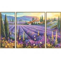 Купить Набор для рисования по номерам Schipper «Лавандовые поля»