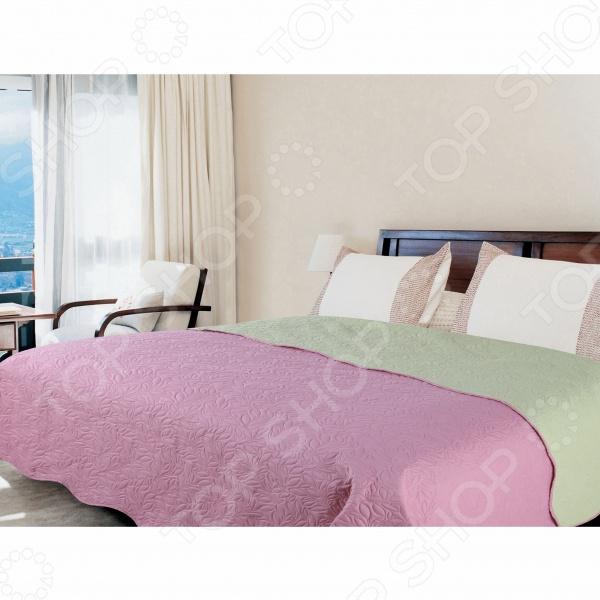 Покрывало Amore Mio Alba pink-grey покрывало amore mio покрывало alba цвет бежевый коричневый 200х220 см