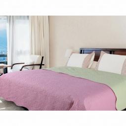 Купить Покрывало Amore Mio Alba pink-grey