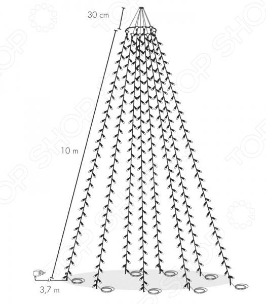 ����� �� 8 ������� Star Trading 488-02 Flagpole