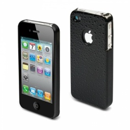 фото Чехол Muvit Black Rain Glossy Back Cover для iPhone 4S