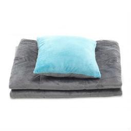 Купить Набор Dormeo Mark Trend 3 в 1. Цвет: серый, голубой. Уцененный товар