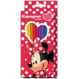 Купить Набор цветных карандашей Disney «Минни» 22632