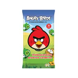 фото Салфетки влажные универсальные Angry Birds №20