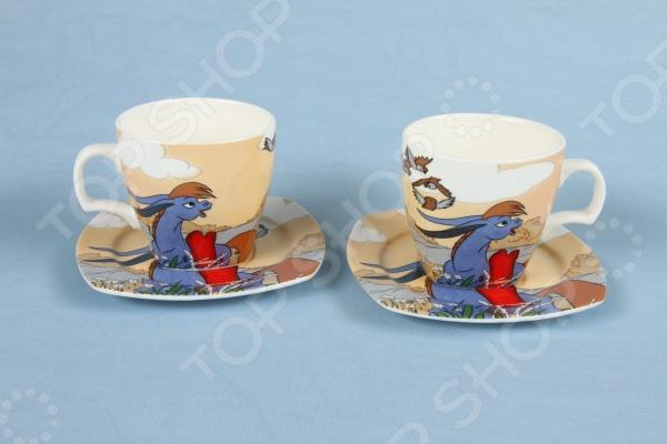 Чайная пара Rosenberg 8688Чайные и кофейные пары<br>Чайная пара Rosenberg 8688 незаменимый элемент повседневного чаепития. Иногда так приятно выпить чаю в компании близких и друзей из аккуратных чашек на блюдечках. Именно поэтому этот набор займет достойное место на любой кухне или же станет прекрасным подарочным вариантом в честь знаменательного события. В комплекте две чашки и два блюдца. Оригинальная подарочная упаковка.<br>