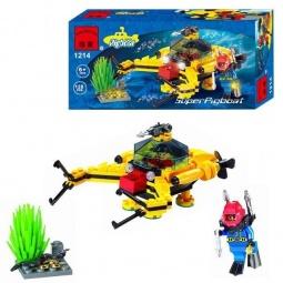 фото Конструктор игровой Brick SuperPigboat 1717106