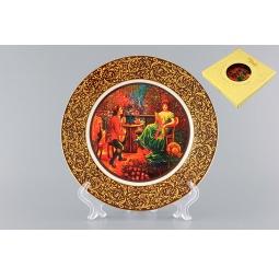 Купить Тарелка декоративная Elan Gallery «Влюбленная парочка»