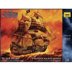 фото Сборная модель Звезда корабль Джека Воробья «Черная жемчужина»