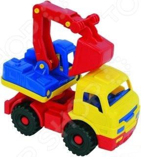 Экскаватор игрушечный Нордпласт «Муравей». В ассортименте