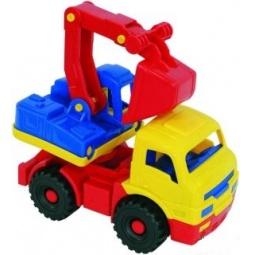 фото Экскаватор игрушечный Нордпласт «Муравей». В ассортименте