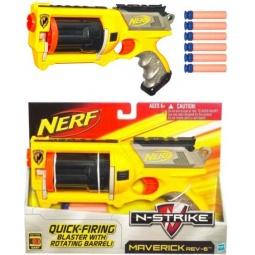 фото Оружие игрушечное Hasbro Бластер Маверик со стрелами