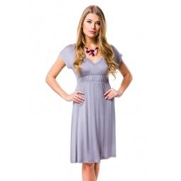 фото Платье Mondigo 8597. Цвет: серый. Размер одежды: 46
