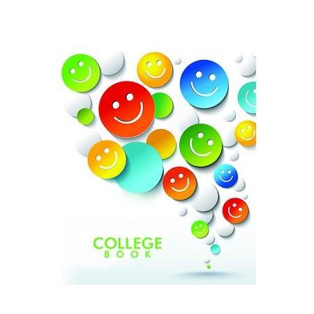 Купить Колледж-тетрадь Бриз «Смайлики»